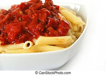 italiano, macarrones