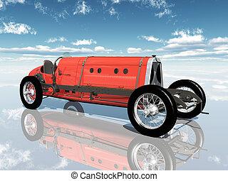 italiano, macchina da corsa