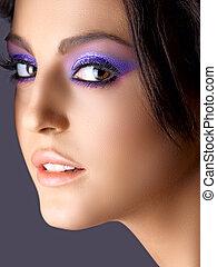 italiano, moda, beleza, maquiagem