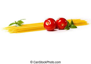 italiano, pasta., comida.