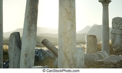 italie, grec, ancien, temple