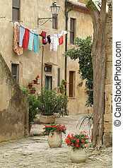italie, vivant, lent