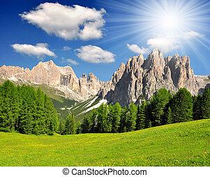 italien, alperna