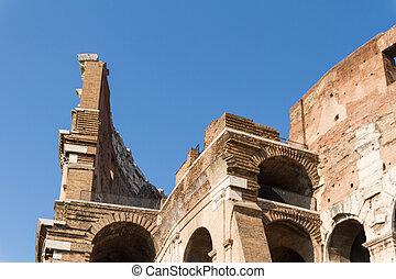 italien, colosseum, rom