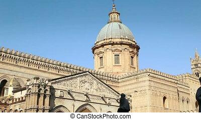 italien, kathedrale, reihenfolge, sizilien, palermo, italienesche