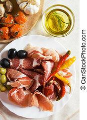 italienesche, antipasto
