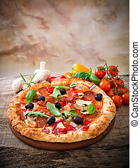 italienesche, köstlich , pizza