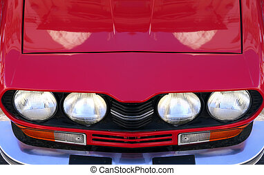 italiensk, iconic, sportscar
