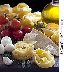 italiensk mad, ingredienser