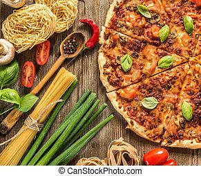 italiensk mat, bakgrund