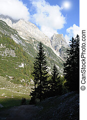 italiensk, mountains