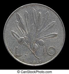 italiensk, mynt