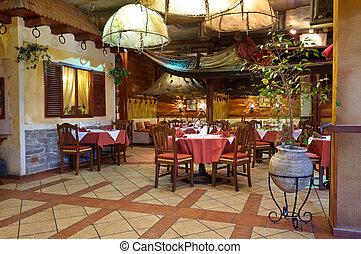 italiensk, restaurang