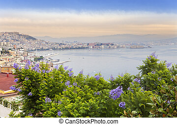 Italy. A bay of Naples. View of the