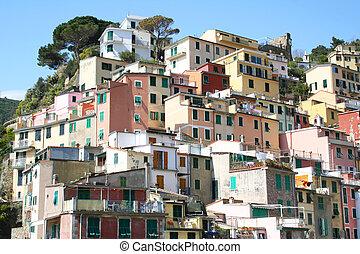 Italy. Cinque Terre. Riomaggiore - Italy. Cinque Terre....