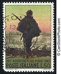 Soldier at the Piave