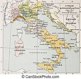 Italy between the end of 18th century and the beginning of...