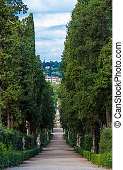 Italy Florence Boboli gardens