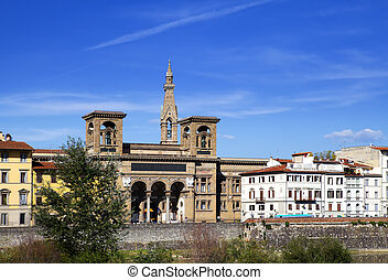 Florence. The ancient building of n