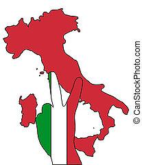 Italy hand signal