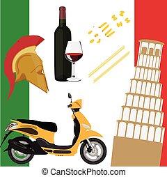 Italy icon set