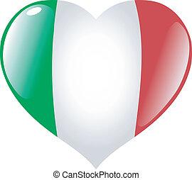 Italy in heart
