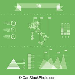 Italy Infographic Report Template