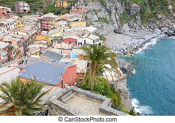Italy medieval town - Cinque Terre, Italy - quaint colorful ...