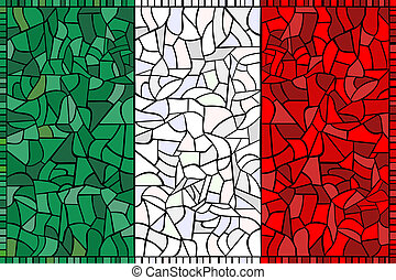 ITALY national flag