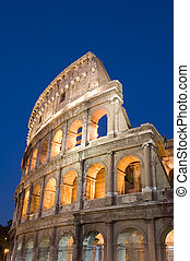 Italy Rome Coliseum - Italy Older amphitheater - Coliseum in...