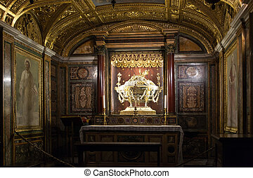 Italy. Rome. Day nursery Christ's in church Santa Maria maggiore