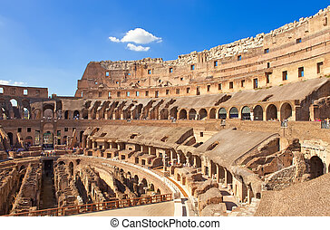 Italy. Rome. The ancient Collosseo