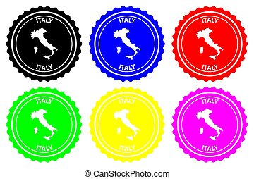 Italy - rubber stamp
