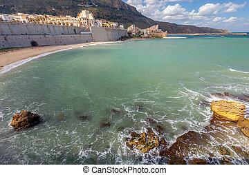 Italy. Sicily. Castellammare del Golfo.