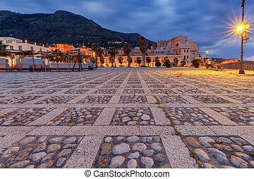 Italy. Sicily. Castellammare del Golfo. - City Quay ...