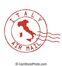 Italy stamp or sign