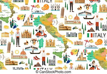 Italy Travel Pattern.