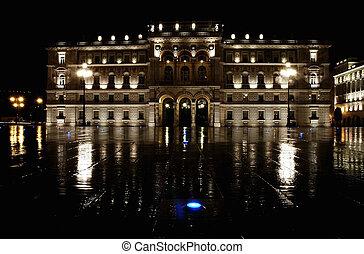 Italy, Trieste, piazza Italia