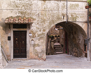italy, tuscany, Capalbio (Grosseto), old part of town