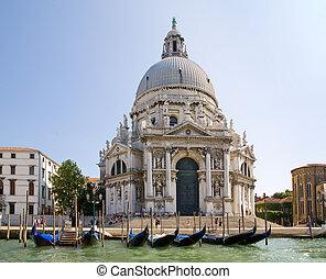 Santa maria della salute - Italy. Venice. Santa maria della ...