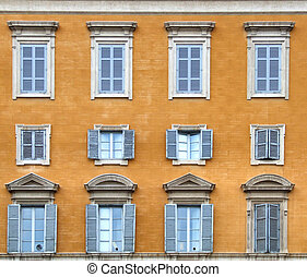 Italy - windows composition