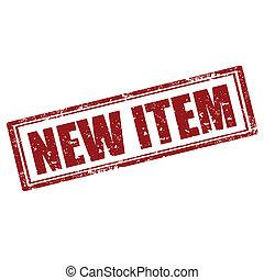 item-stamp, novo