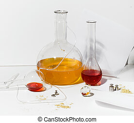 items from laboratory chemists