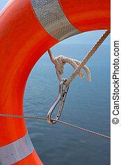 items of equipment for marine yacht
