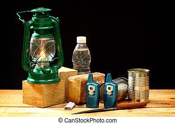 items, voor, noodgeval