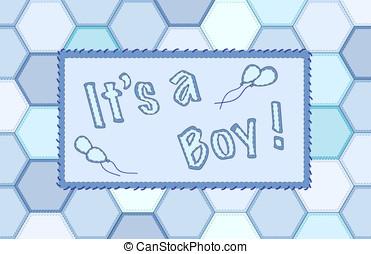 It's a boy patchwork