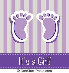 It's a Girl Feet