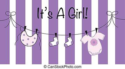 It's a Girl in Purple
