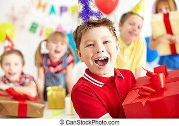 it?s, anniversaire, mon