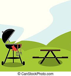 It's BBQ time. Let's get a party
